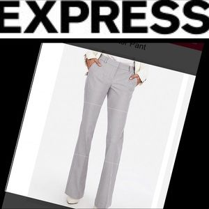 Express Pants - NWT Express Editor Low rise flare in Gray sz 4